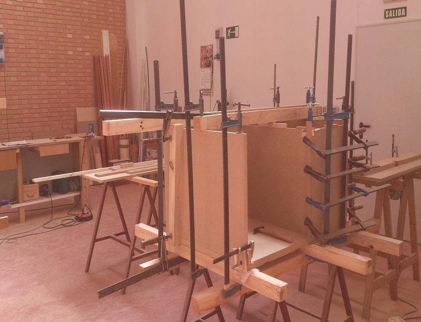 Mueble artesanal a medida