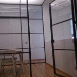 Estructura metálica para office