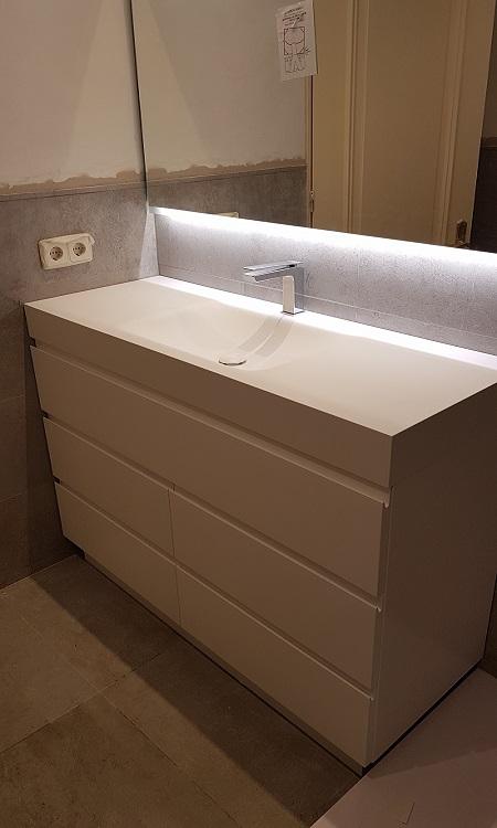Mueble de baño en laca_indoormobel